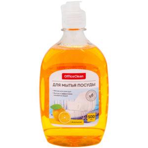 """Средство для мытья посуды OfficeClean """"Апельсин"""", 500мл"""
