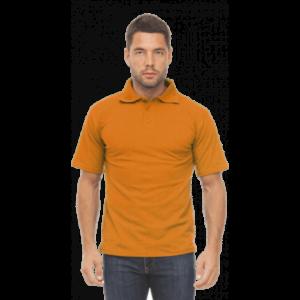 Рубашка ПОЛО оранжевая