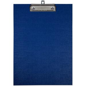 Планшет с зажимом OfficeSpace А4, бумвинил, синий