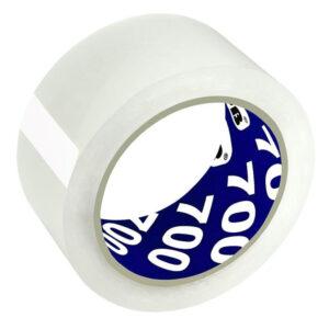 Клейкая лента упаковочная Unibob, 48мм*66м, 47мкм