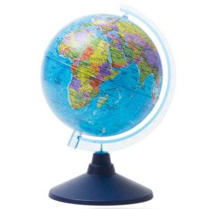 Глобус политический Globen, 15см, на круглой подставке