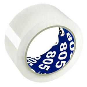 Клейкая лента упаковочная Unibob, 50мм*66м, 50мкм