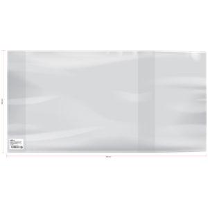 Обложка 300*580 для контурных карт, учебников и тетрадей А4, универсальная, ArtSpace, ПЭ 140мкм ШК