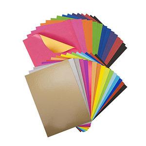 Наборы цветной бумаги и картона