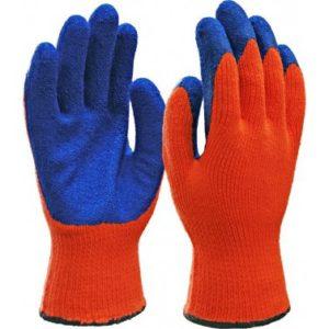 Перчатки полушерстяные