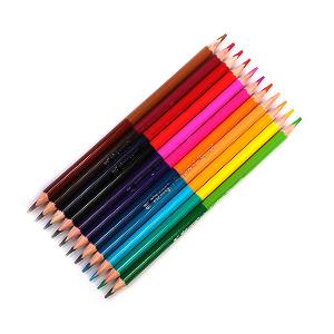 Карандаши двухцветные