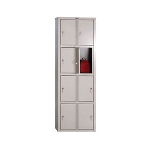 Шкафы металлические индивидуальные