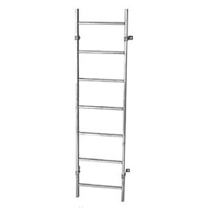Шахтные лестницы из стали, оцинкованной горячим способом
