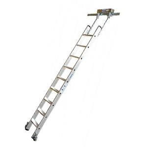Лестница для стеллажей со ступенями, для Т-образных шинных систем STABILO