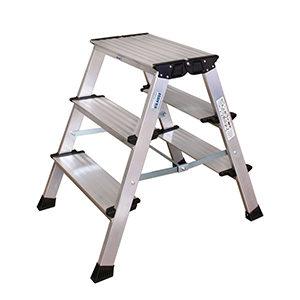 Лестницы-стремянки двухстороннего типа
