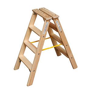 Лестницы-стремянки из дерева