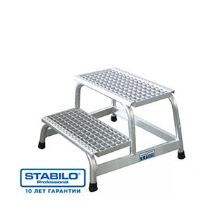Монтажная подставка с решетчатыми ступеньками
