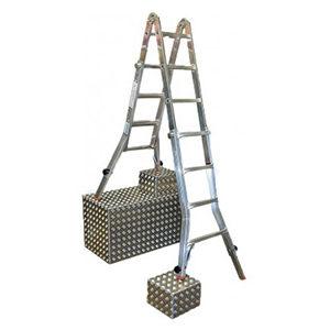 Шарнирные телескопические лестницы-трансформеры