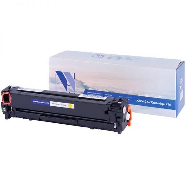 Картридж совм. NV Print CB542A/Cartridge 716 желтый для HP Color LJ CM1312/CP1215/1515/1518(1400стр)