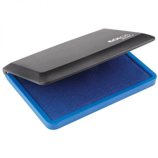 Штемпельная подушка Colop Micro 2, 110*70мм, синяя, пластиковая