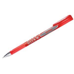 """Ручка гелевая Berlingo """"G-Line"""" красная, 0,5мм, игольчатый стержень"""