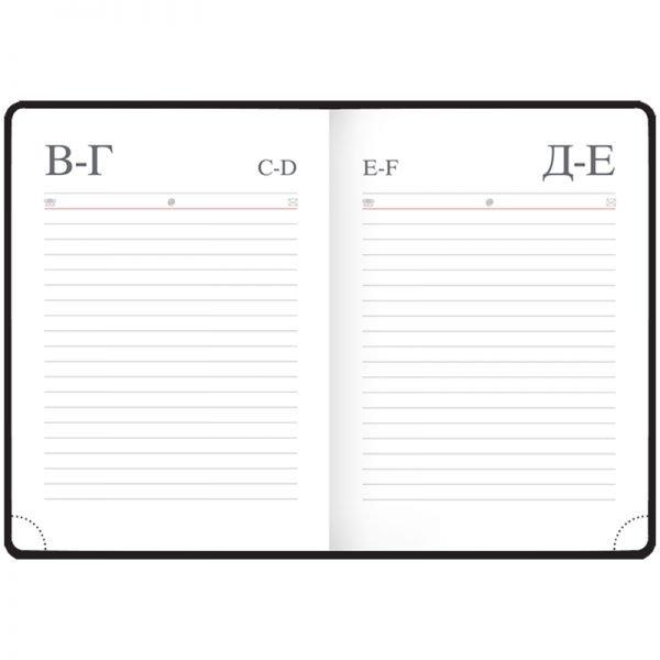 """Ежедневник недатированный, A6, 136л., кожзам, OfficeSpace """"Winner"""", синий"""