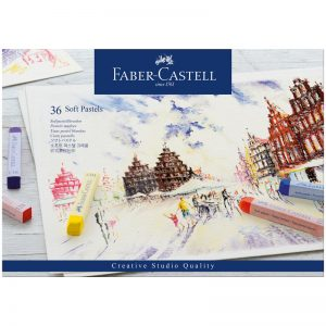"""Пастель Faber-Castell """"Soft pastels"""", 36 цв., картон. упак."""