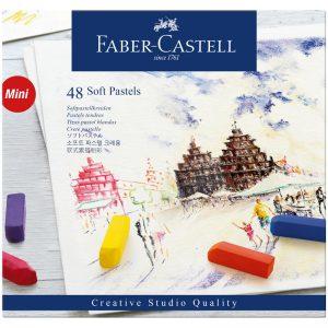 """Пастель Faber-Castell """"Soft pastels"""", 48 цв., мини, картон. упак."""