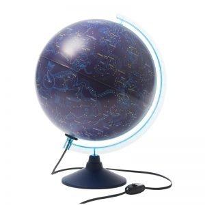 Глобус Звездного неба Globen, 32см, с подсветкой на круглой подставке