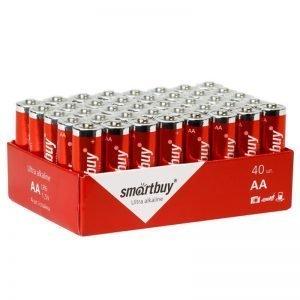 Батарейка SmartBuy AA (LR06) алкалиновая, OS40