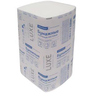 Полотенца бумажные лист. OfficeClean Professional(V-сл.), 2-слойн., 200л/пач., 23*20,5, белые