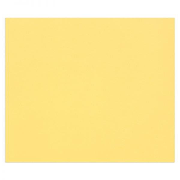 "Цветная бумага 500*650мм., Clairefontaine ""Tulipe"", 25л., 160г/м2, лютик, лёгкое зерно"