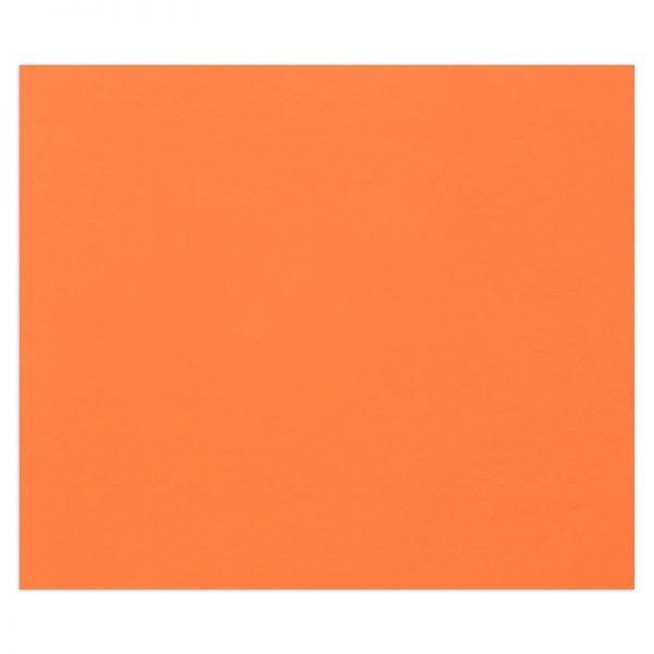 "Цветная бумага 500*650мм., Clairefontaine ""Tulipe"", 25л., 160г/м2, светло-оранжевый, лёгкое зерно"