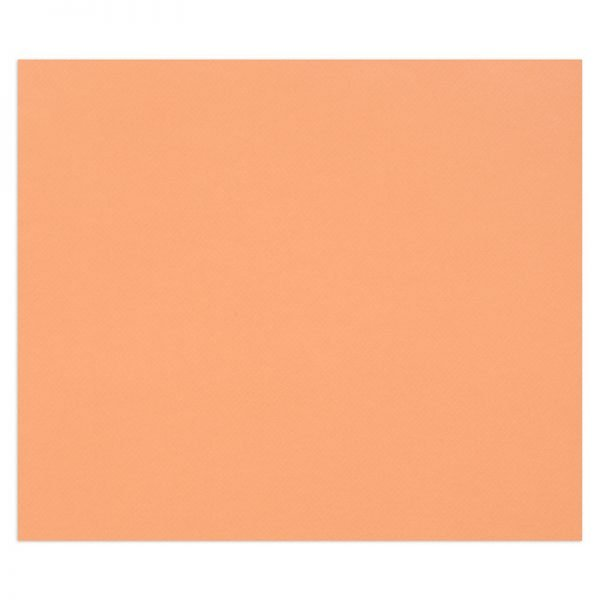 """Цветная бумага 500*650мм., Clairefontaine """"Tulipe"""", 25л., 160г/м2, рыжий, лёгкое зерно"""