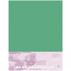 "Бумага для пастели 5л. 500*700мм Clairefontaine ""Pastelmat"", 360г/м2, бархат, темно-зеленый"