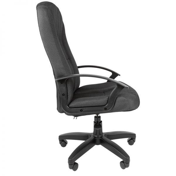 Кресло руководителя Стандарт СТ-85 PL, ткань 15-13 серая, пиастра
