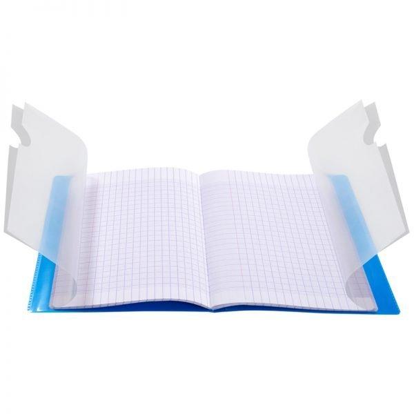 "Бизнес-тетрадь 48л., 170*220мм, клетка Clairefontaine ""Koverbook"", 90г/м2, пластик. обложка, белая"