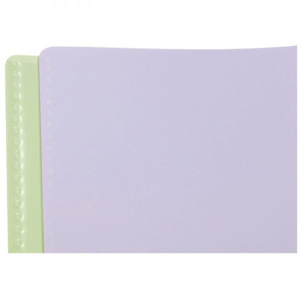 "Тетрадь 80л., А5, клетка на гребне Clairefontaine ""Koverbook Blush"", 90г/м2, пластик. обложка, пудровая"