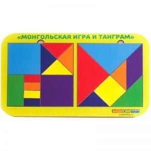 """Игра-головоломка Woodlandtoys """"Монгольская игра и танграм 2.0"""""""