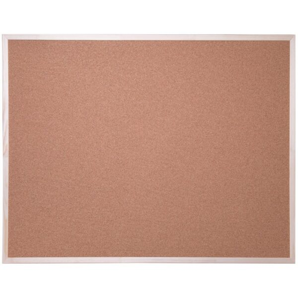 Доска пробковая OfficeSpace, 100*150см, деревянная рамка