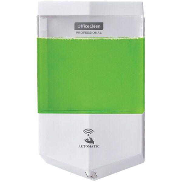Диспенсер для жидкого мыла Office Clean Professional Original, наливной, сенсорный, белый, 0.6л