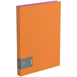 "Папка на 2-х кольцах Berlingo ""Fuze"", 25мм, 600мкм, оранжевая"
