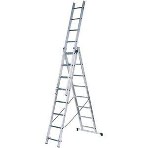 Лестница трехсекционная 3 х12; 3.3 - 8.17 м.