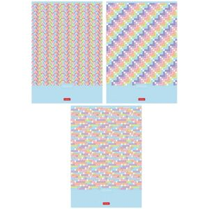 "Тетрадь 80л., А4 клетка Hatber ""Pattern Collection"""