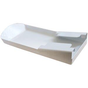Каплесборник Ника, металл, белый (к коду 310997)