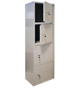 Металлический бухгалтерский шкаф КБ - 06 н