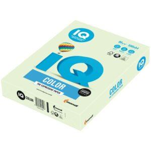 """Бумага IQ """"Color pale"""" А4, 80г/м2, 500л. (светло-зеленый)"""