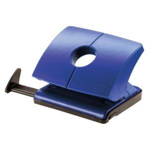 """Дырокол Novus """"B 216"""" 16л., пластиковый, с линейкой, синий"""