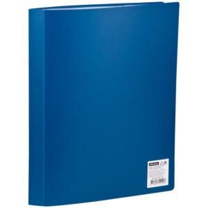 Папка с 40 вкладышами OfficeSpace, 21мм, 400мкм, синяя
