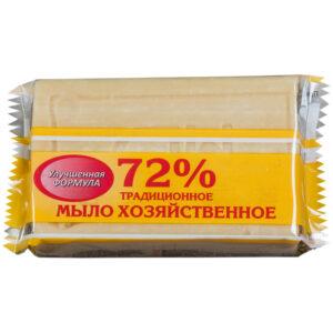 """Мыло хозяйственное 72% Меридиан """"Традиционное"""", 200г, флоу-пак"""