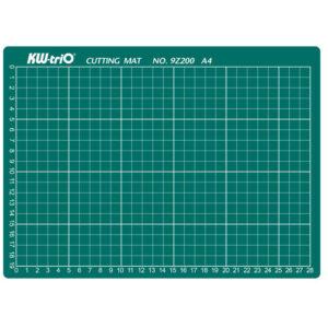 Коврик для резки KW-Trio A4, 30*22см, толщина 3мм, разметочная сетка