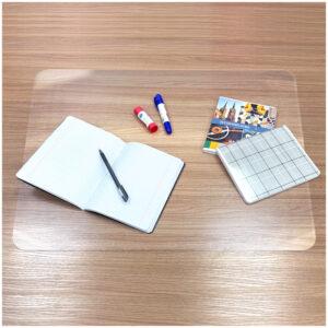 Настольное покрытие OfficeSpace 48*65см, прозрачное глянцевое