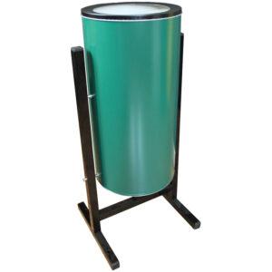 Урна металлическая уличная Титан, 25л, СЛ2-250, зеленая