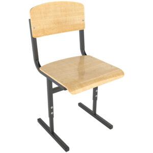 Стул ученический регулируемый 380*380*340-420мм, 3-5гр, черный каркас