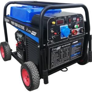 Бензиновый сварочный генератор TSS PROF GGW 6.0/200E (MMA/TIG/Cellulose)